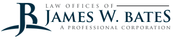 Law Offices of James W. Bates A Professional Corporation Header Logo